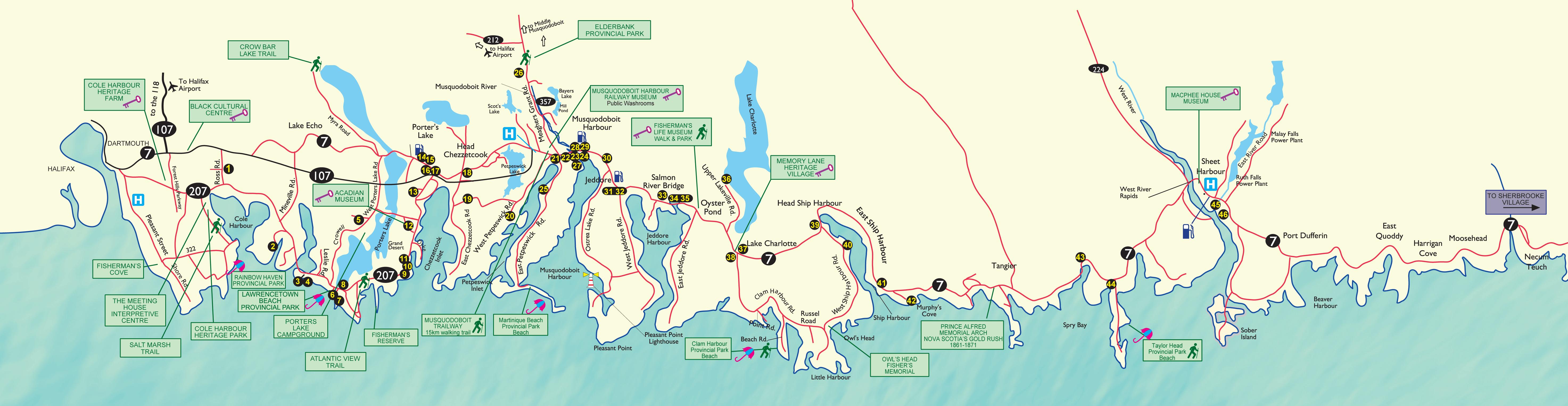 Seacoasttrail Eastern Shore Nova Scotia Marine Drive Find BB